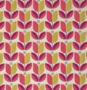 Free Spirit Flora by Joel Dewberry - 3849 - Rose Pink & Chartreuse Tulips - PWJD104 - Cotton Fabric